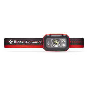 Black Diamond Storm 375 Lampada frontale, nero/rosso